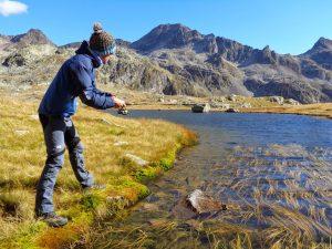 pêche lac de Belledonne Isère