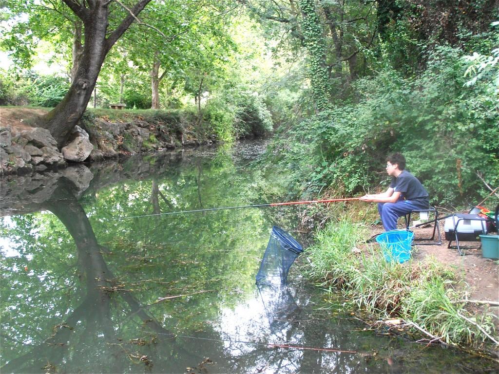 Site de pêche du Salaison