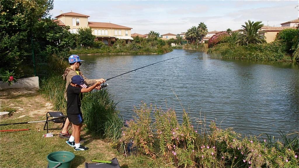 Ferrage d'un poisson