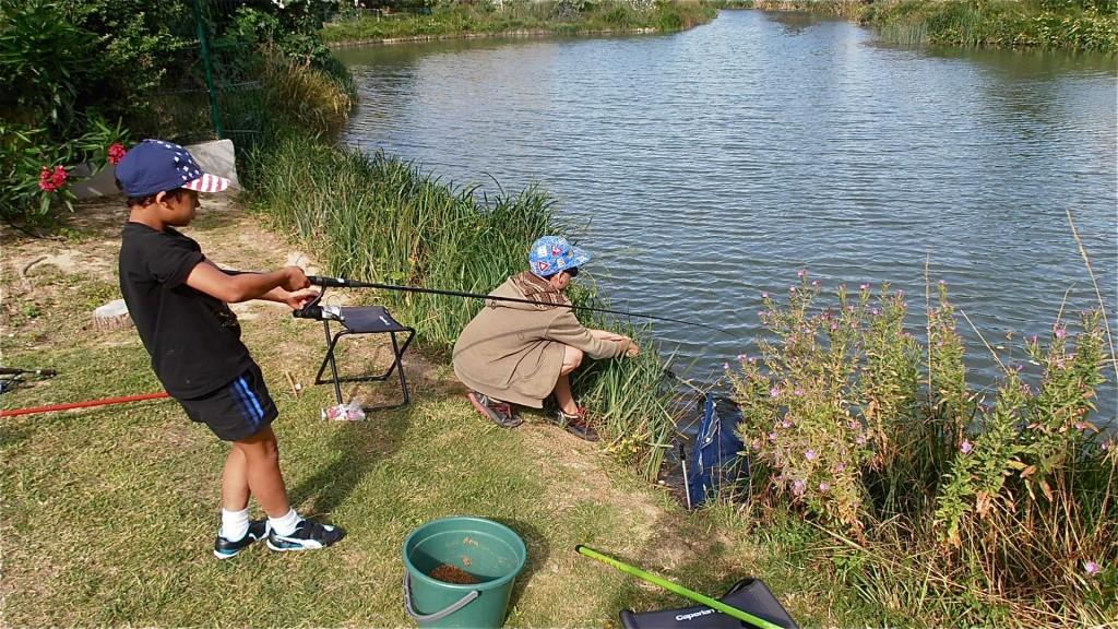Epuisette à poisson
