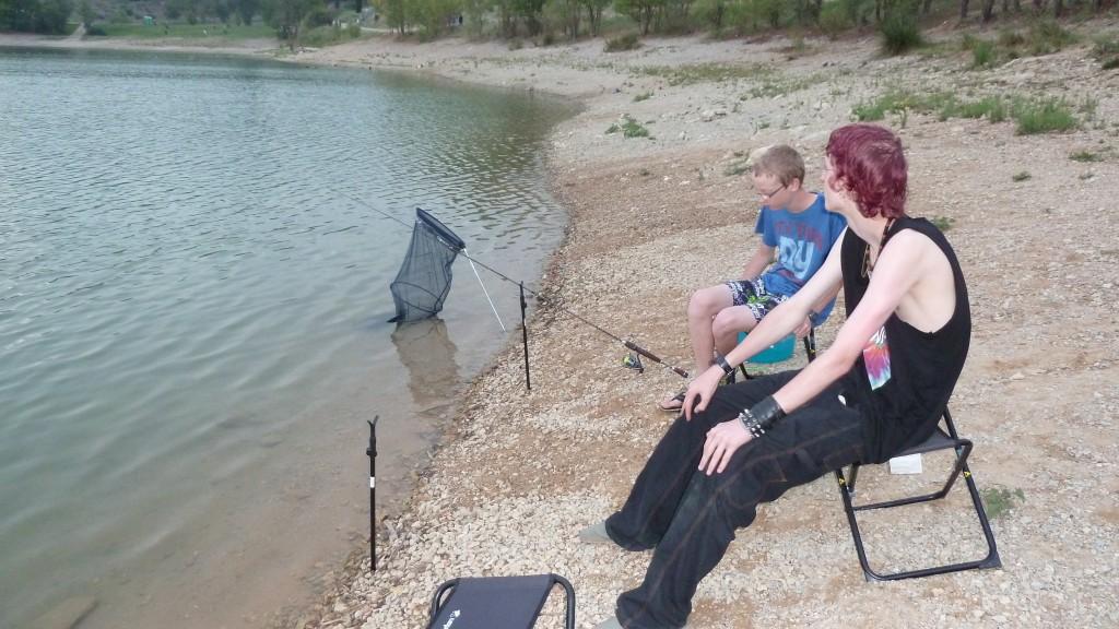 Attente pêche au coup