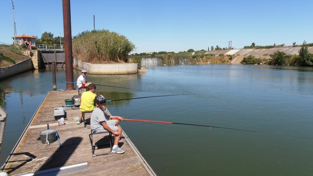 coin de pêche