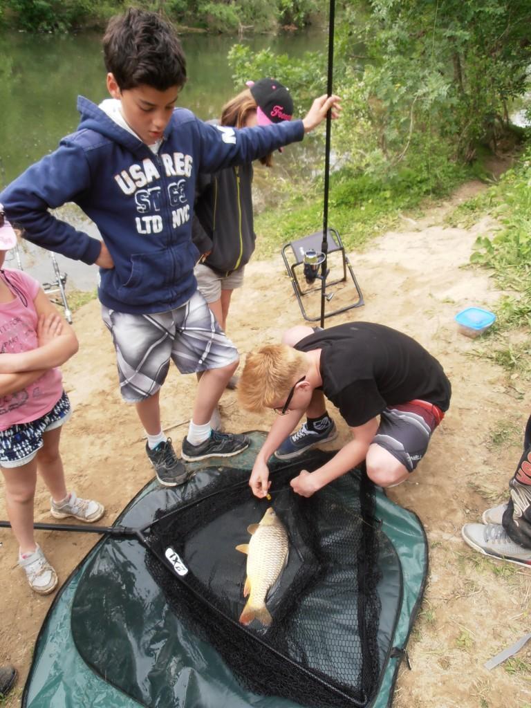 Stage pêche enfants 2015
