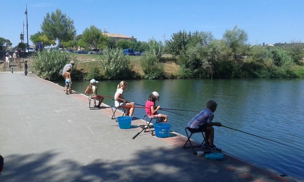 pêche enfants hérault
