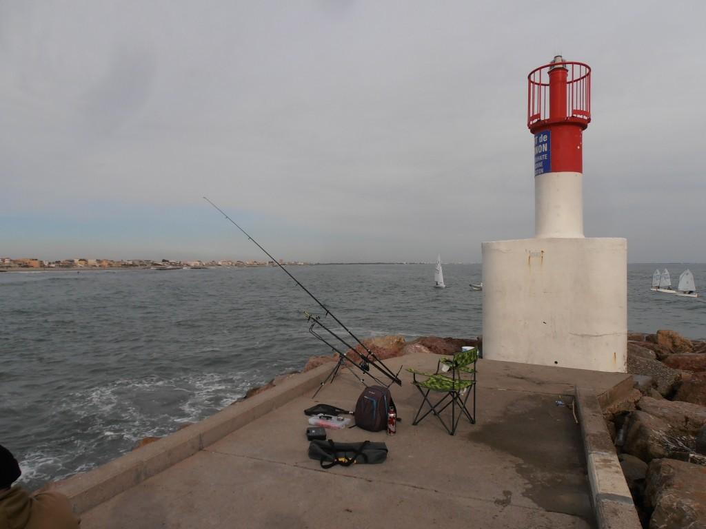 pêche daurade mer