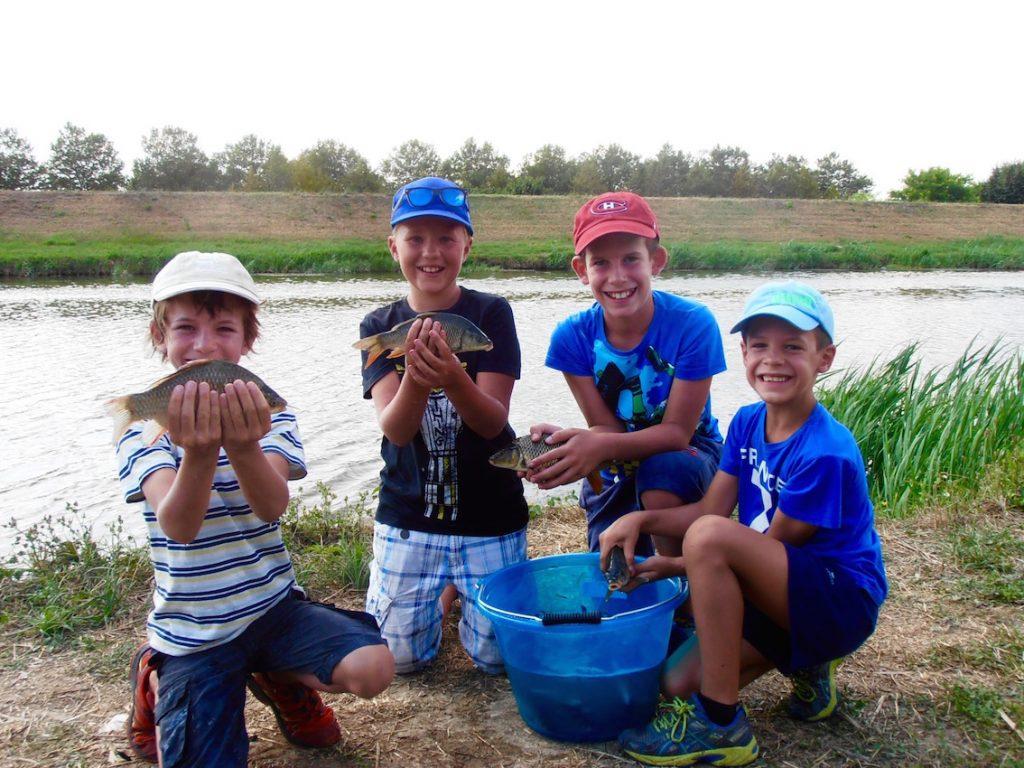 stage pêche enfant hérault
