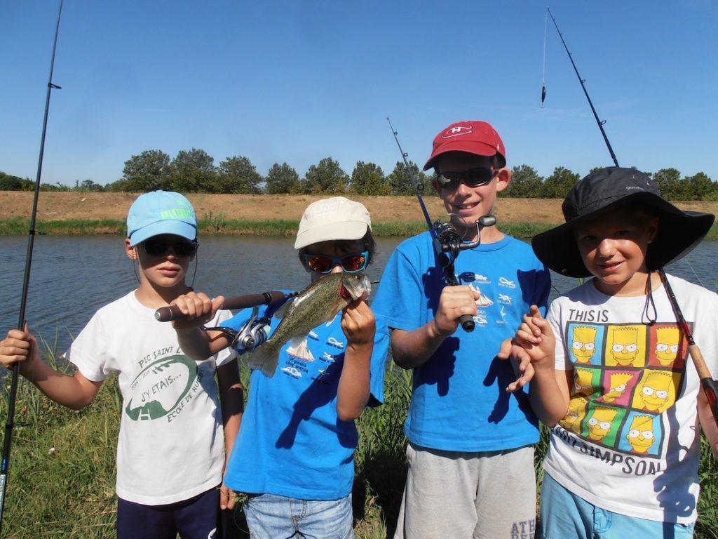 stage pêche enfants Montpellier