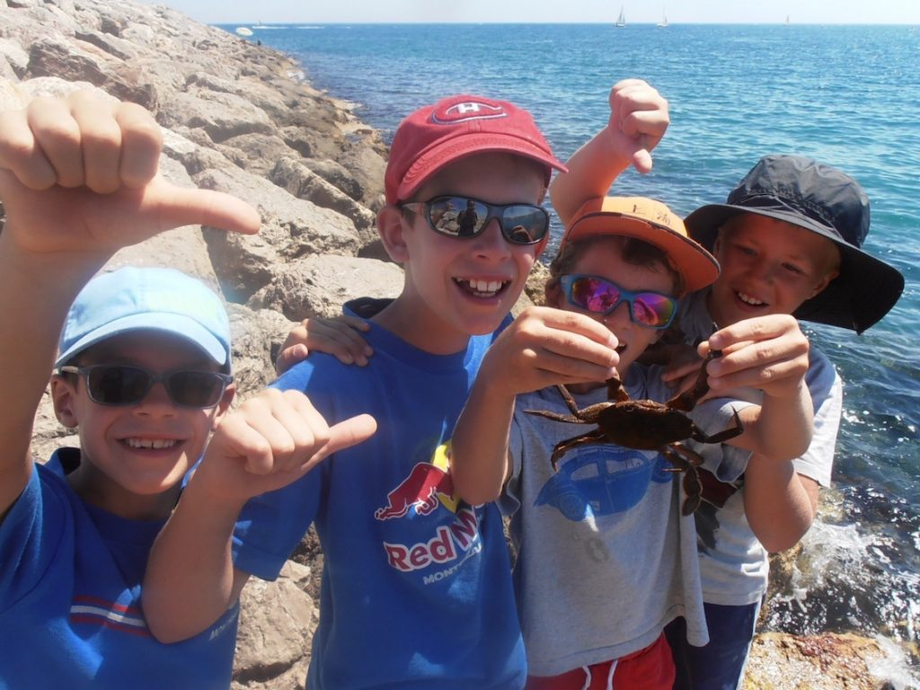 stage pêche enfants hérault